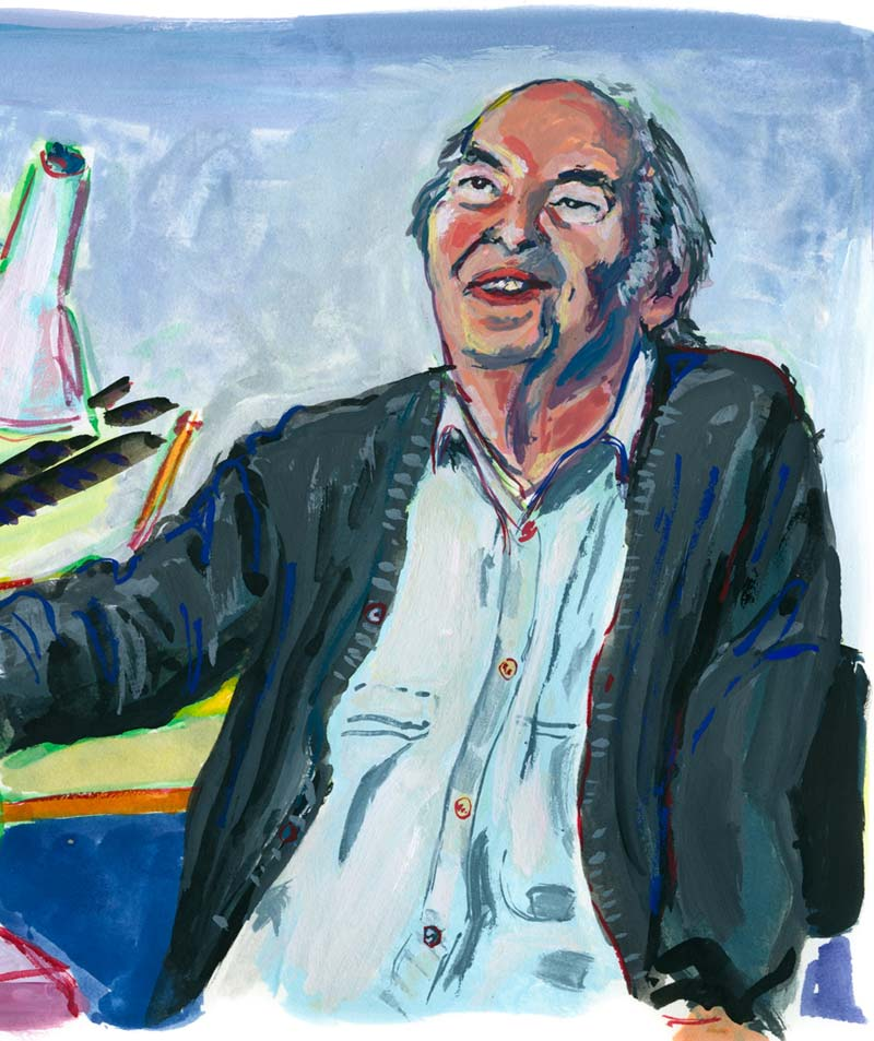 Quentin Blake, after the film 'Studio Visit' by TateShots.